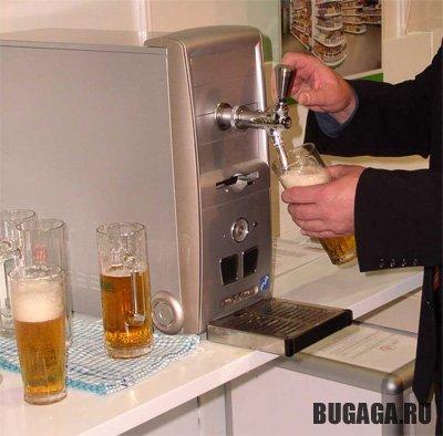 """Корпус для офисного компьютера """"Beer Ready"""""""