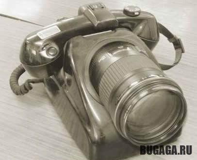 Новый телефон с фотоаппаратом