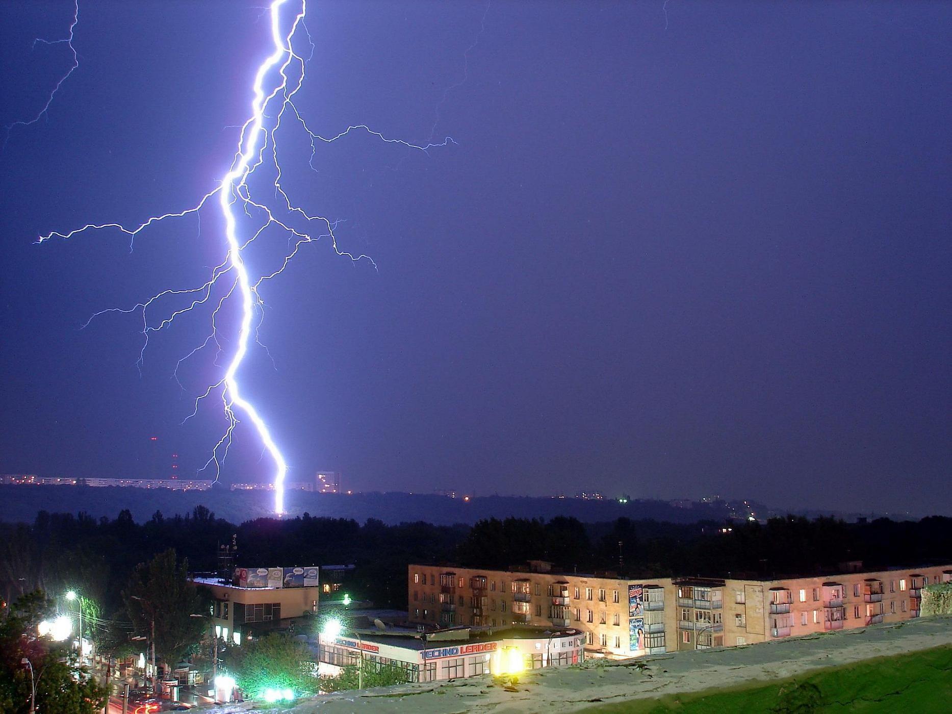 Расчет рисков систем защиты от молний