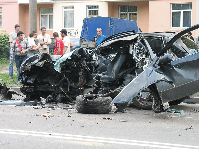 Bmw x5 авария