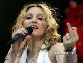 Мадонну все-таки распяли в Москве. ФОТО