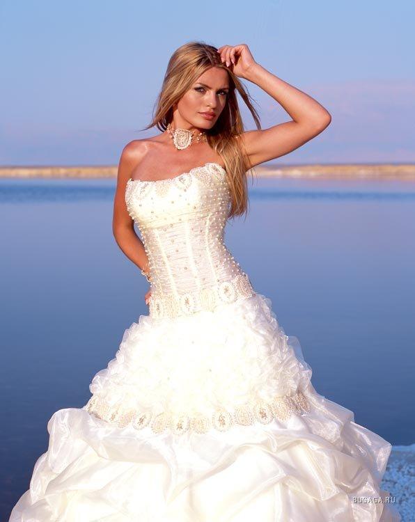 Фото самых красивых невест в красивых платьях