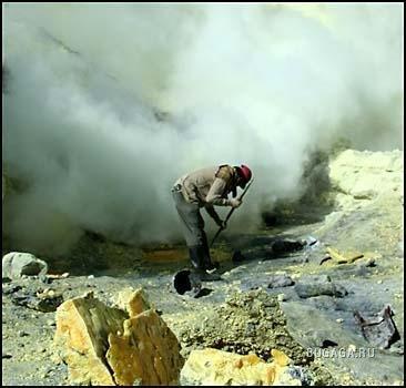 Срочно требуются рабочие на вулкан. Дорого. ФОТО