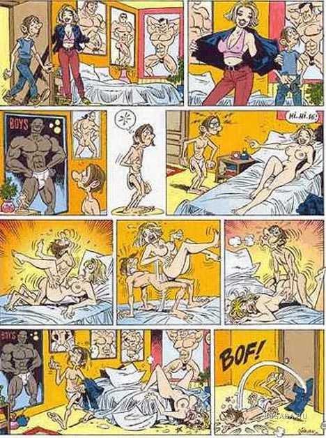 Сексуальные комиксы