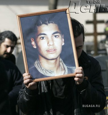 Ayer, familiares y amigos se despidieron de Ratmir Shishkov.