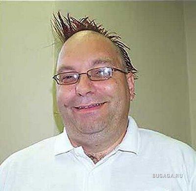 Странные причёски