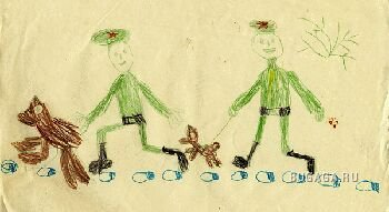 Детские рисунки и недетские комменты ) ЧАСТЬ 1