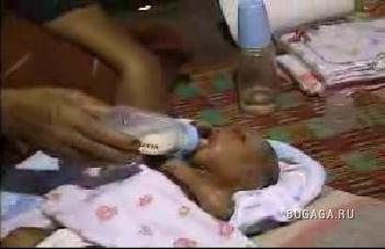 В Малайзии родился не совсем обычный ребенок