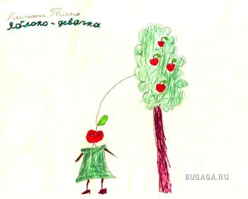 Детские рисунки и недетские комменты) ЧАСТЬ 2