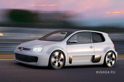 Volkswagen Golf W12 - апогей GTI