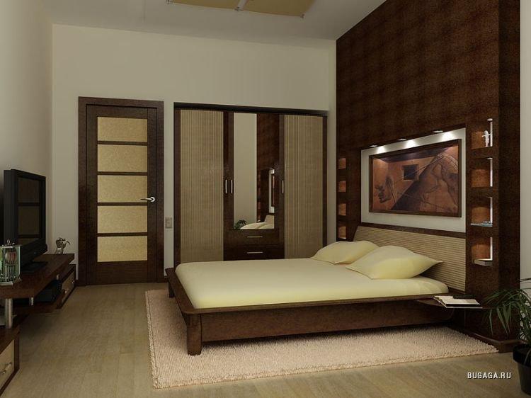 Дизайн спальни 3х4 фото