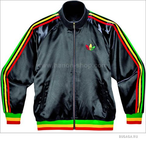 The 'Adidas Rasta Jacket' from the Adidas Originals Fall 2006 line which.