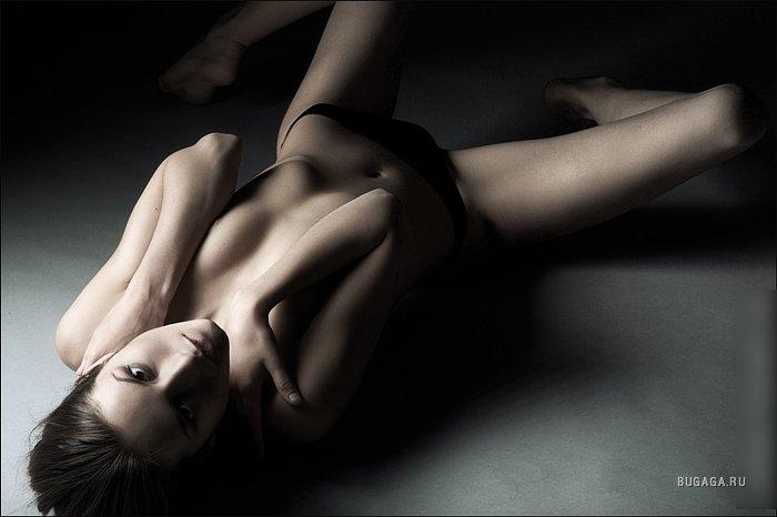 фото женщины в стиле ню