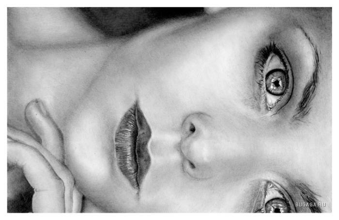 Рисунки карандашом.  Художник Andy Buck (15 фото - 2.55Mb). художники.