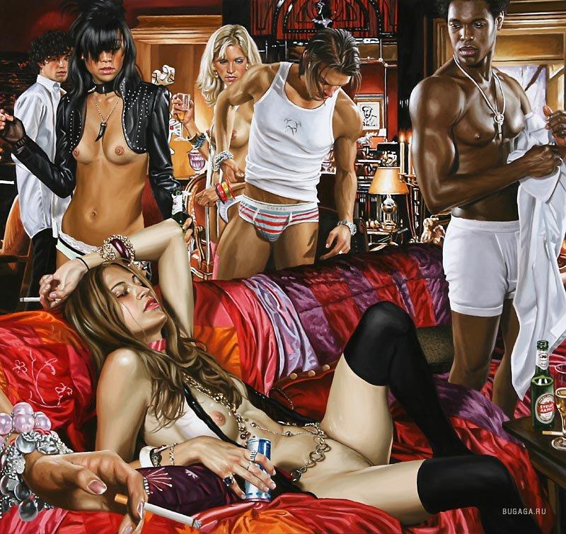 Современные эротические картины