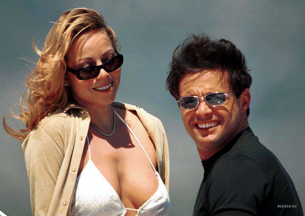 Mariah carey white bikini
