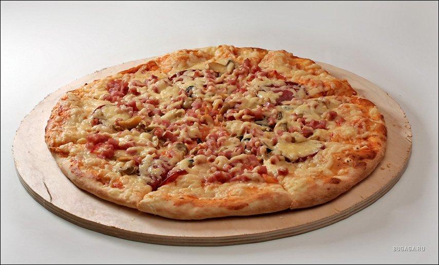 пицца с колбасой рецепт фото