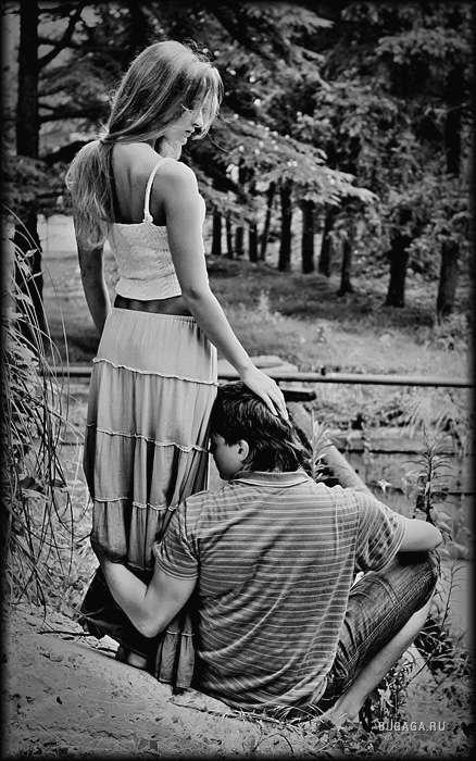 черно-белая любовь картинки