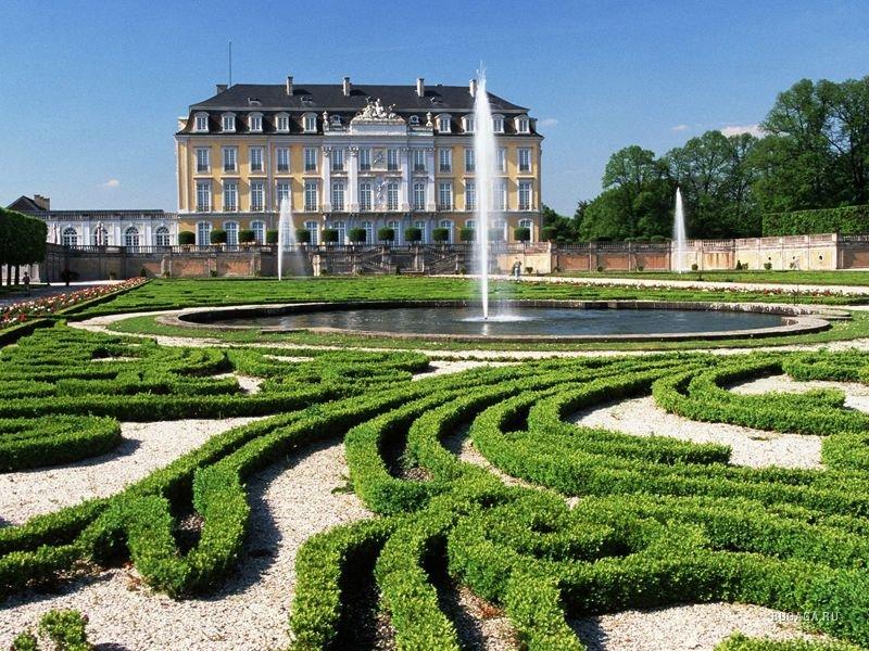 Фото ландшафтный дизайн в германии