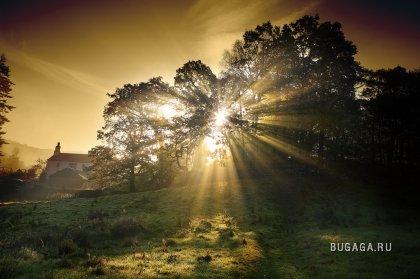 Магия рассвета и мистерия заката фотограф Steve Highfield.