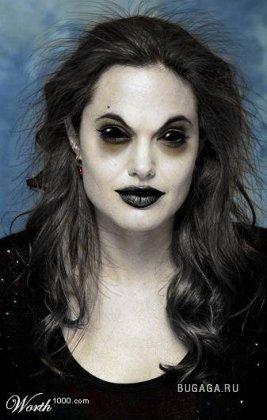Анжелина Джоли и фотошоп