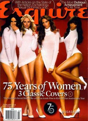 Модели Victoria's Secret в журнале Esquire