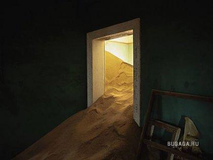 Пески в Африке атакуют дома