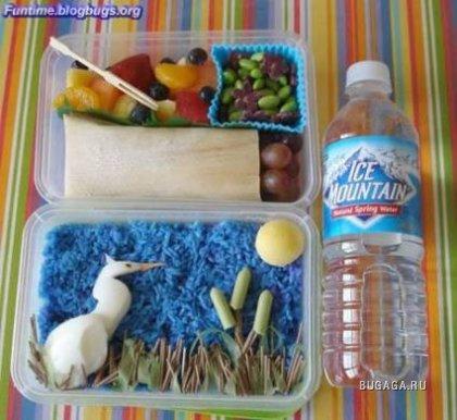 Креативные школьные завтраки