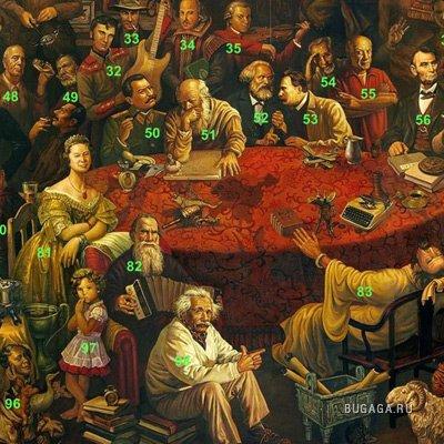100 Великих Людей - Узнаем всех?