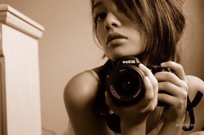 Как себя саму сфотографировать