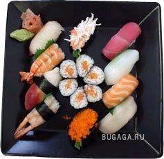 Время есть суши