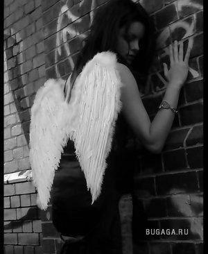 Ангелы: темные и светлые.