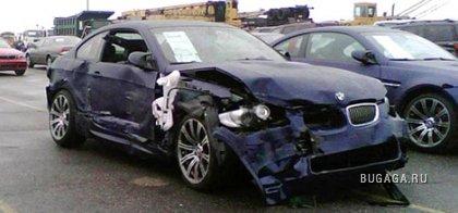 В Америке при транспортировке было разбито порядка 370 новых автомобилей марки BMW