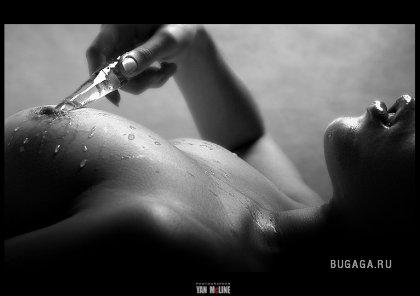 «Картины тела» от фотографа Yan Mcline. Часть 1