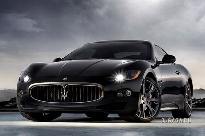 Топовый трезубец Maserati Gran Turismo S