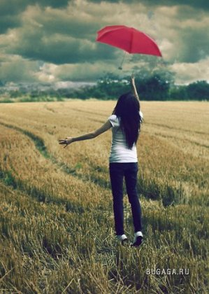 На улице дождик...