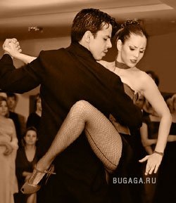 Tango - pasión en el baile.