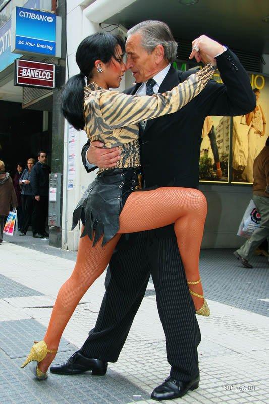 Танго страсть в танце