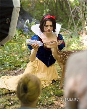 Волшебный мир Disney от Анни Лебовиц