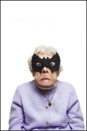 Бабуля отжигает по полной!