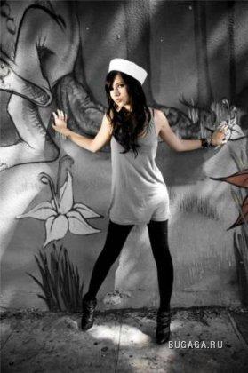 Трэш-модель Hanna Beth