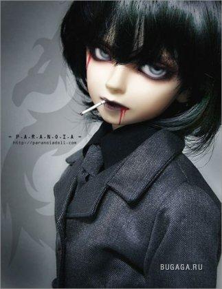 Мрачные куклы-готы
