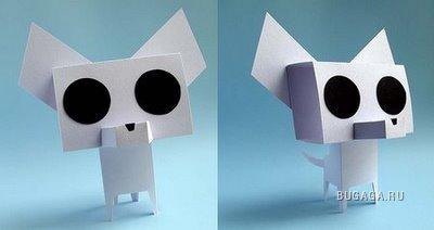 Картонно-бумажный креатив (25 фото)