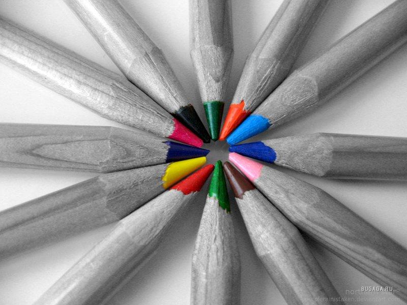 Как сделать черно-белым и выделить цвет