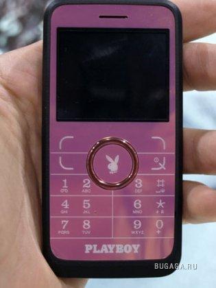 Первые фотографии телефона Playboy