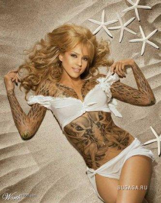 Звезды в татуировках