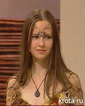 Девочка-эльф после передачи «Модный приговор»