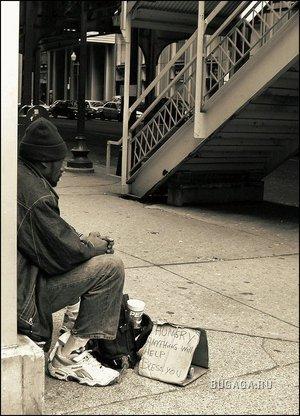 Жизнь городских улиц...