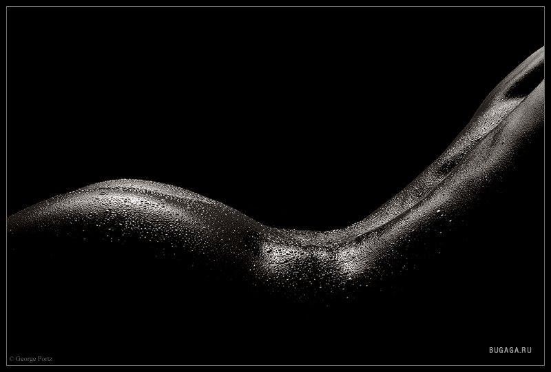 Черно белое фото голых женщин
