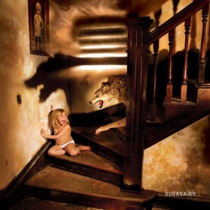 Страхи из детства в работах фотохудожника Joshua Hoffine